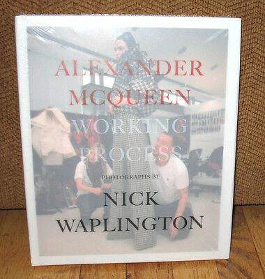 New Sealed Alexander McQueen Working Process Photographs Nick Waplington Fashion