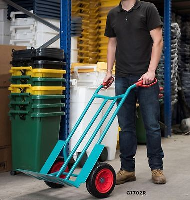 Extra Wide Sack Truck with Wheel Guards GI702R