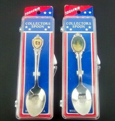 Antigua Islands in the Sun & Kennedy Space Center Florida Souvenir Spoons (Antigua Sun)