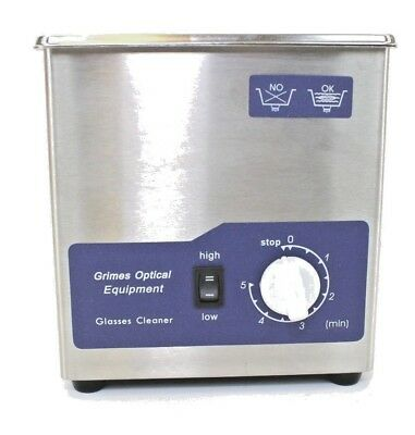 Goe Ultrasonic Eyeglassjewelrydental Cleaner 415 New Free Shipping