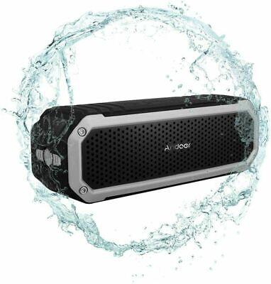 Altavoz estéreo portátil impermeable al aire libre inalámbrico Bluetooth...