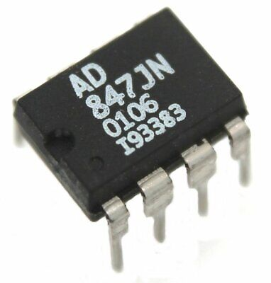 Analog Devices Ad847jn Operational Amplifier - Lot Of 1 5 Or 10.