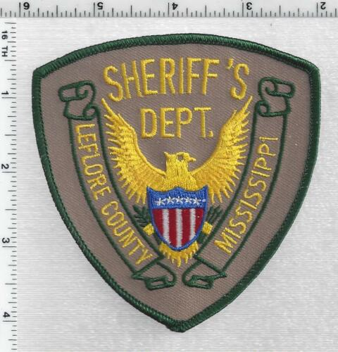 Leflore County Sheriff (Mississippi) 2nd Issue Shoulder Patch