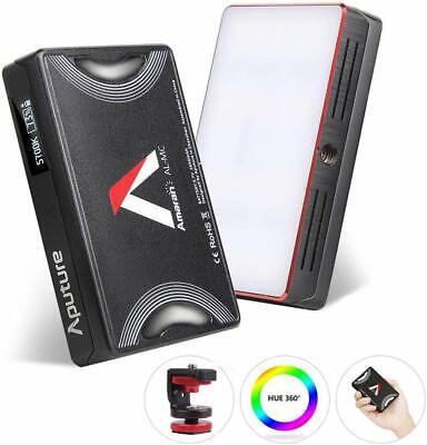 Aputure Amaran AL-MC RGB Led Video Light CRI 96+ RGB 0-360 Full Color 3200-6500K