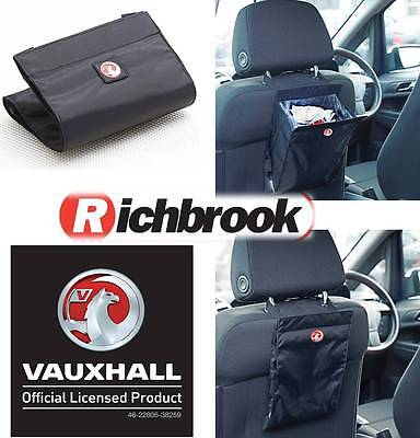 Richbrook Vauxhall Logo Car Van Caravan Motorhome Portable Travel Rubbish Bin