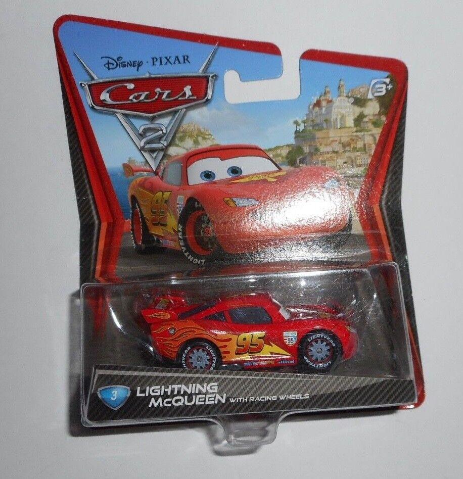 Disney/Pixar Cars 2, Lightning McQueen with Racing Wheels Di