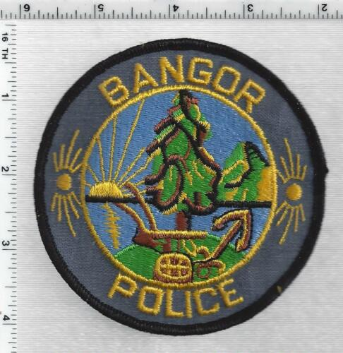 Bangor Police (Maine) 1st Issue Shoulder Patch