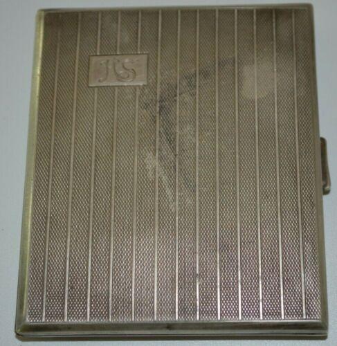 Antique 835 Silver Cigarette/Case Germany Karl Homann 1920-1940