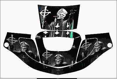 3m Speedglas 9000 9002 X Xf Auto Sw Jig Welding Helmet Wrap Decal Sticker Ghost