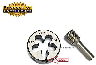Lighthouse Tools - Adjustable Die M14x1 Lh Thread Alignment Tool 7.62 Cal