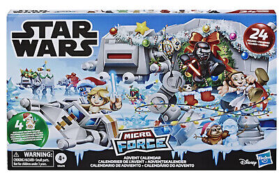 Star Wars Micro Force Advent Calendar CHRISTMAS 24 mini action figures - 2019