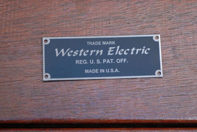 Western Electric Badges Trade Mark DIY Nice