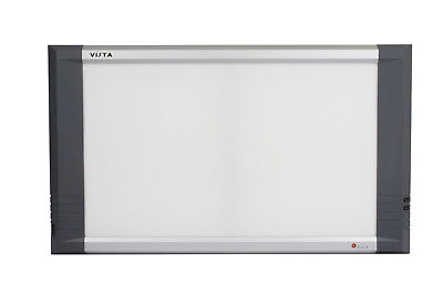 Vista X-ray Film Viewbox 2-bank 14 X 17 Two Films Auto Film Activation Sw