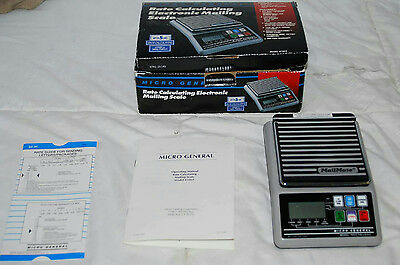 Mailmate Micro General Electronic Mailing Scale Model 1003 Up To 5lbs.