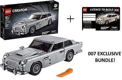 LEGO Creator James Bond Aston Martin DB5 10262 w Limited Edition VIP License NEW