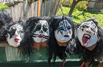 Authentic Halloween Masks (1996 Authentic KISS Halloween)