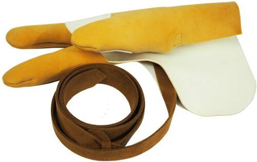 Kyudo Yukage Japanese Archery Gloves J-161 Sanbu Kyugu Size L