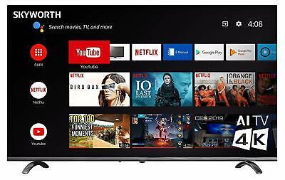 "SKYWORTH Q20300 50"" INCH 4K UHD LED HDR A53 Quad-CORE Android Smart TV"