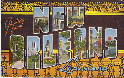 New Orleans Wall Decor (TIN SIGN
