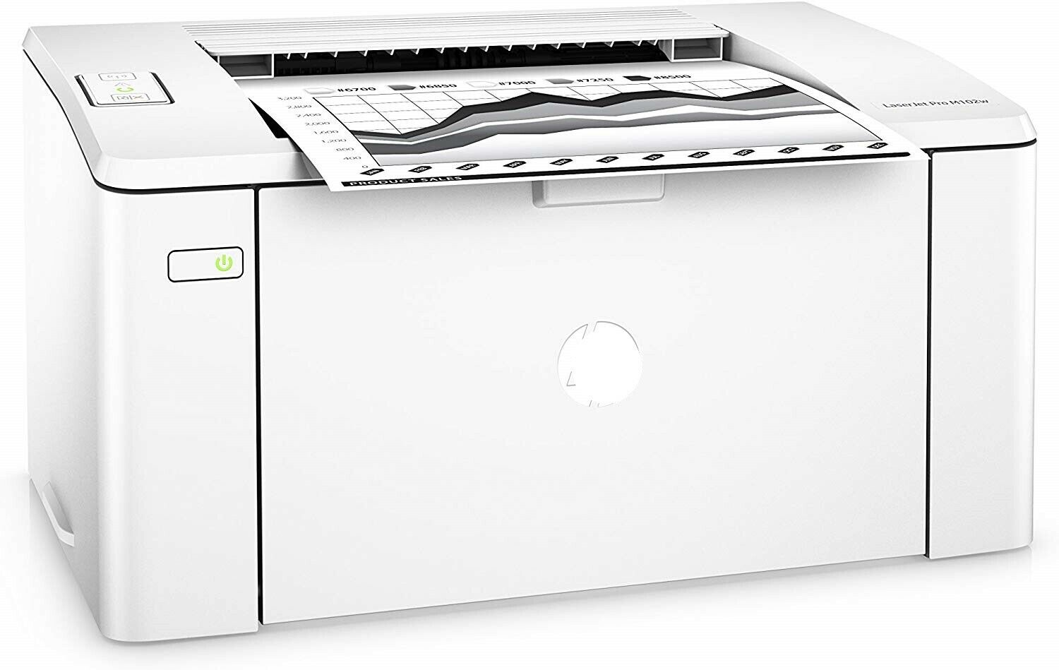 NEW HP LaserJet Pro M102w Wireless Laser Printer, G3Q35A#BGJ