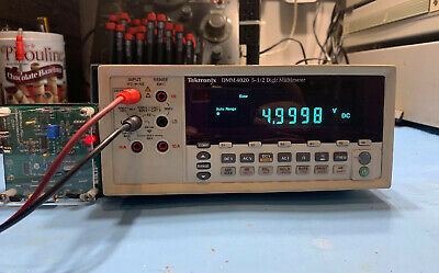 Tektronix Dmm4020 5.5 Digit Multimeter Used Tested Ships Free