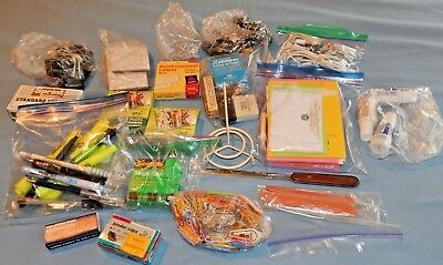 Huge Lot Of Small Assorted Office Supplies Staples Clips Tape Post-it More Ec