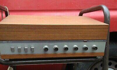 Very Rare vintage ITT BELL Transistor amplifier. No. 1008