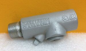 Appleton-1EYF-EYM-1-Trade-Size-4-25-Length-Conduit-Fitting-New