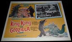 1962-King-Kong-vs-Godzilla-ORIGINAL-LOBBY-CARD-Ishiro-Honda-JAPANESE-SCI-FI-B