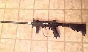 Tippmann A5 with stock and barrel