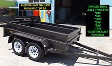 10X5 HEAVY DUTY AUSTRALIAN MADE TANDEM LIGHT TRUCK TYRES & RIMS Brisbane South East Preview