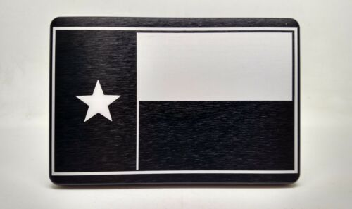 Texas Flag, Billet Aluminum Hitch Cover,   4x6,  Made In USA