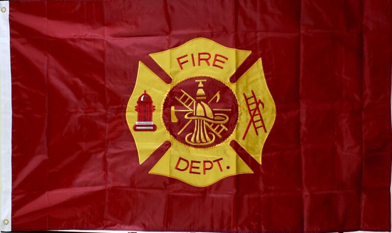 Fire Department Flag 3