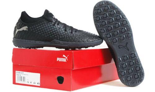 PUMA Men Future 4.4 TT Cleats Black Futsal Soccer Shoes Boot