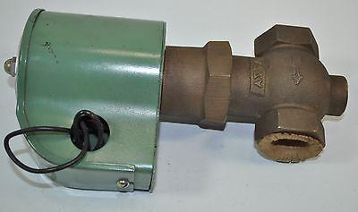 Asco Air-gases-water-light Oil Solenoid Valve Model 821026