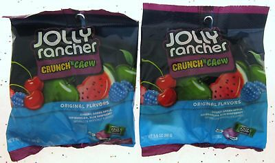 Jolly Rancher ~ Crunch N Chew ~ 3.5oz bag candies Crunch and Chew ~ Lot of - Jolly Rancher Chews