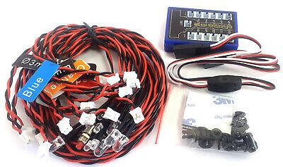 L-003 1/10 Escala Carreras Coche RC 12 Kit De Luz LED Acelerador...