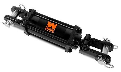 Wen Tr2508 2500 Psi Tie Rod Hydraulic Cylinder With 2.5 Bore And 8 Stroke