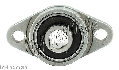 14inch Flanged Miniature Pillow Block Mounted Bearings 0.250 Small Insert 6.35