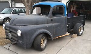 "1951 Dodge ""project"" Truck"