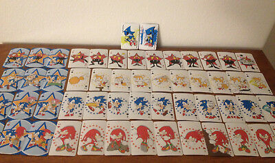 New Ships Next Day Ge Great Eastern Classic Sonic The Hedgehog Playing Cards