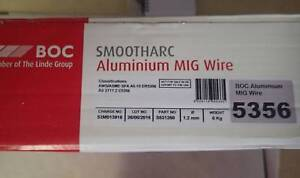 SMOOTHARC ALUMINIUM MIG WIRE 5356  6KG ROLL Biggera Waters Gold Coast City Preview