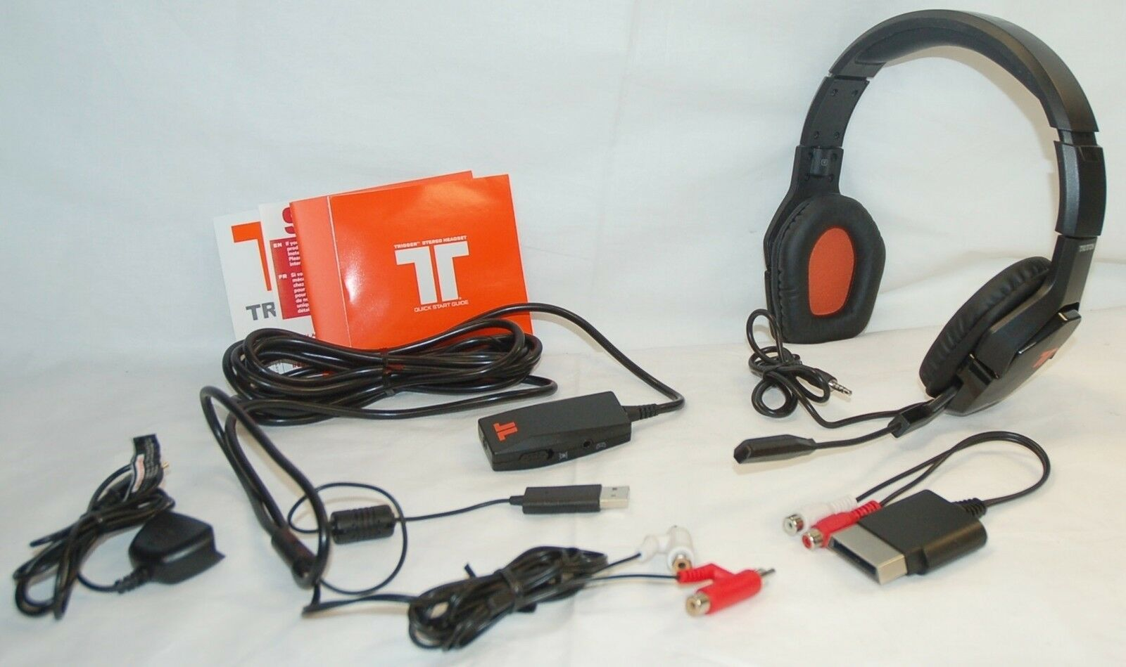 tritton trigger for xbox 360 black stereo gaming wired. Black Bedroom Furniture Sets. Home Design Ideas