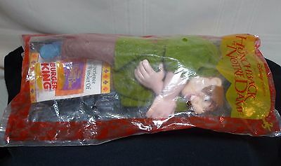 "Burger King Hunchback of NotreDame Quasimodo Puppet Toy 9"" NOS 1996"