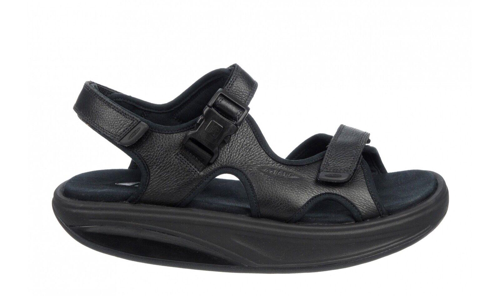 MBT Kisumu 3S Men's Sandal (Soft Premium Leather, Microfiber Footbed, 2 Colors)