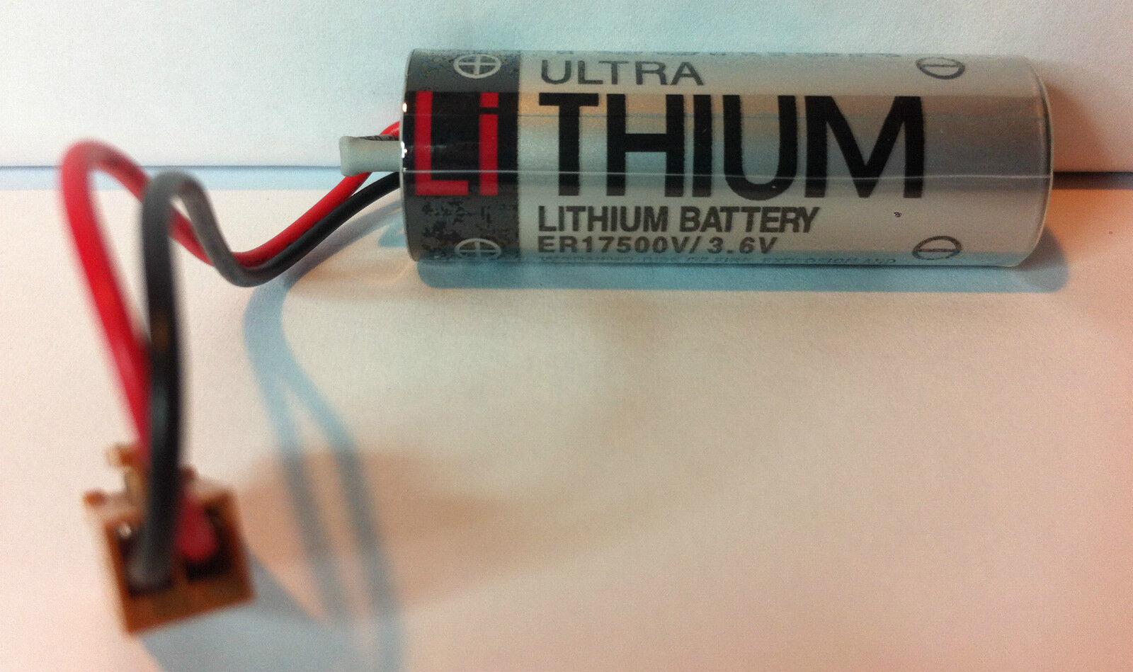 Brand Toshiba Er17500v 3.6v 2700mah Lithium Plc Battery W...