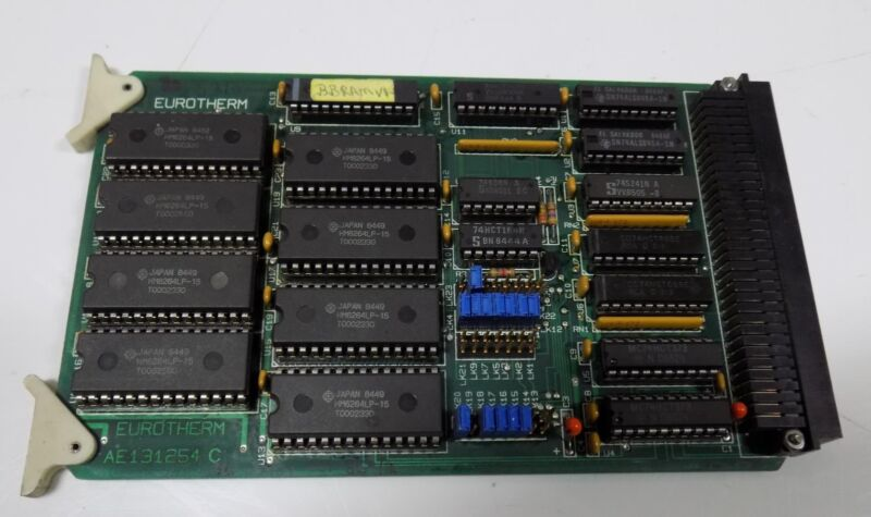 EUROTHERM CONTROLS CIRCUIT BOARD AE131254 C