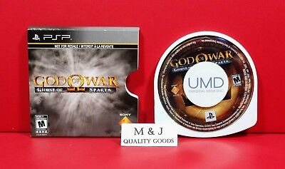 God of War: Ghost of Sparta ~ Sony Playstation Portable PSP ~Full Game~NEW!