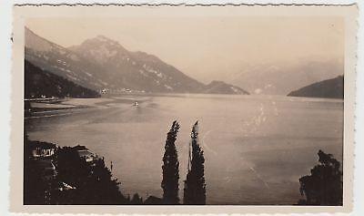 (F15937) Orig. Foto Weggis, Blick über den Vierwaldstätter See 1929