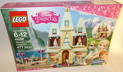 New Lego Disney Princess Frozen Arendelle Castle Celebration 41068 Sealed